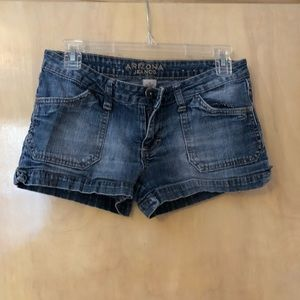 Arizona Jeans Shorts Dark Wash
